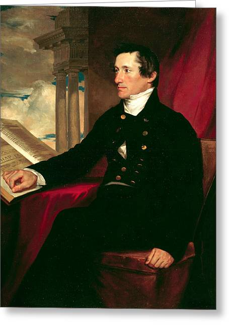 Colonel William Drayton Greeting Card by Samuel Morse