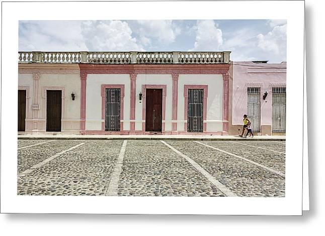 Cuba Greeting Cards - Colonial Beauty Greeting Card by Dawn Currie