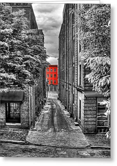 Color At The End Greeting Card by Tim Wilson