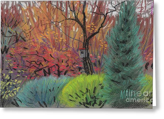 Autumn Pastels Greeting Cards - Color Harmonies Greeting Card by Donald Maier