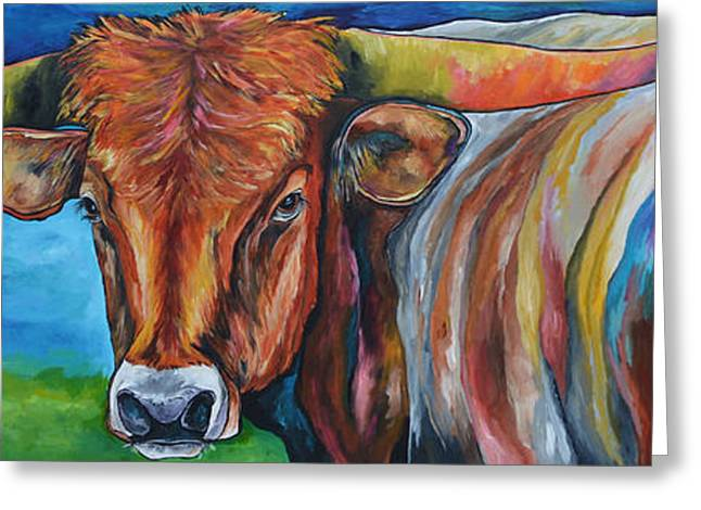 The Ranch Greeting Cards - Color Me Texas Greeting Card by Patti Schermerhorn