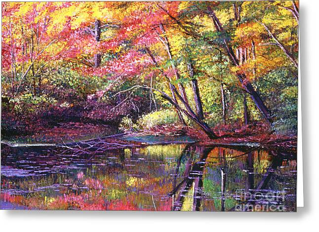 Best Choice Paintings Greeting Cards - Color Poetry Greeting Card by David Lloyd Glover