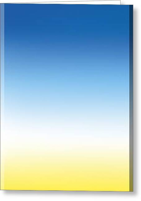 Spectrum Greeting Cards - Color Temperature Spectrum Greeting Card by Henning Dalhoff