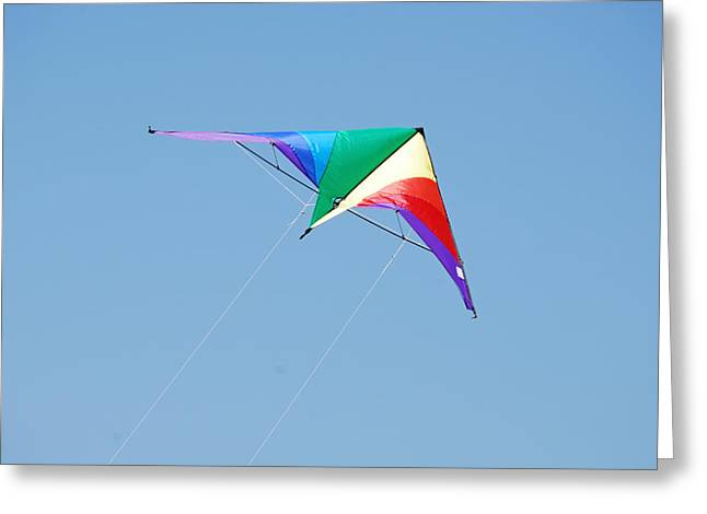 Kite Greeting Cards - Color the Sky Greeting Card by Peter  McIntosh