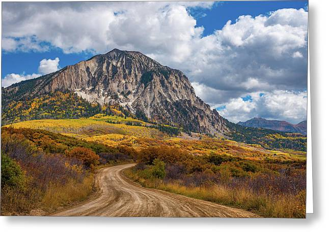 Colorado Backroads Greeting Card by Darren White