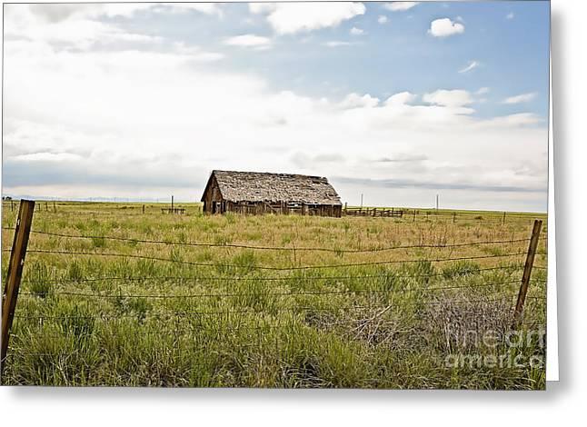 Old Barns Greeting Cards - Colorado Barn Greeting Card by Scott Pellegrin