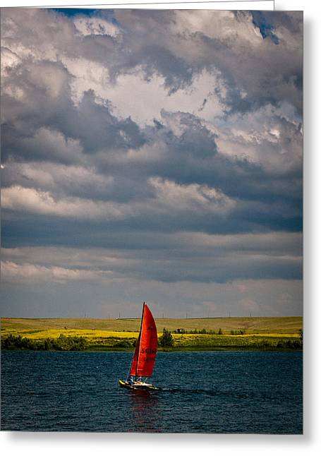 Catamaran Greeting Cards - Colorado Catamaran Greeting Card by Kevin Munro