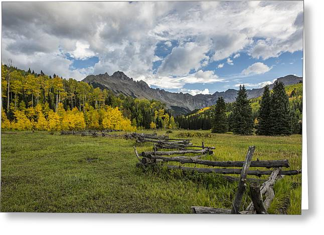 Colorado Fall Time Greeting Card by Jon Glaser