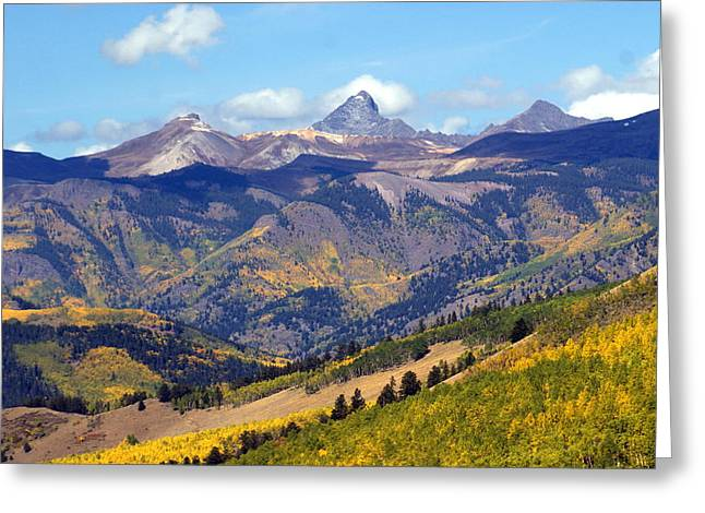 Colorado Mountains 1 Greeting Card by Marty Koch