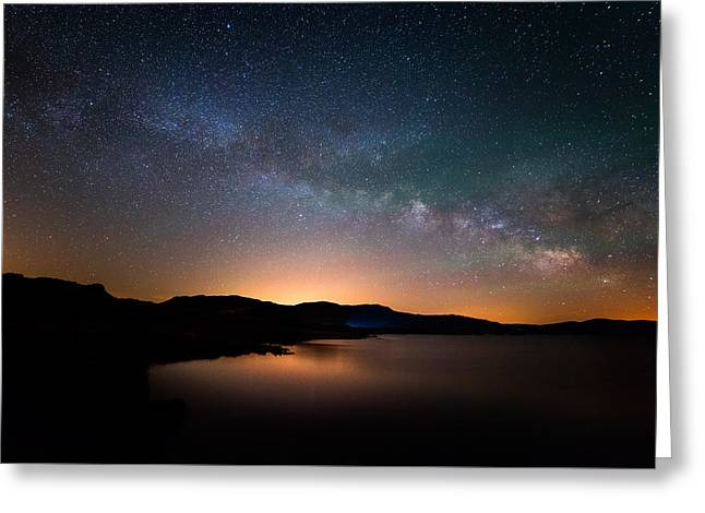 Starry Sky Greeting Cards - Colorado Nights Greeting Card by Darren  White