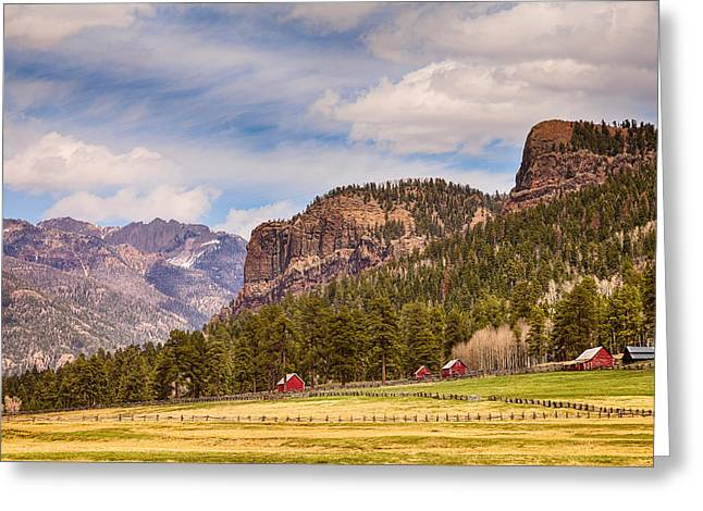 Wolf Creek Greeting Cards - Colorado Western Landscape Greeting Card by James BO  Insogna