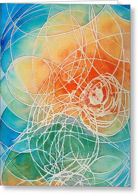 Colorful Art - Color Wash - By Sharon Cummings Greeting Card by Sharon Cummings