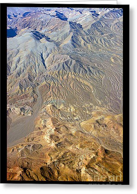 Planet Earth Greeting Cards - Colorful Death Valley Desert - Planet eARTh Greeting Card by James BO  Insogna