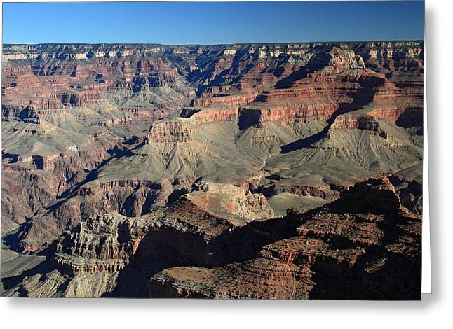 The Grand Canyon Greeting Cards - Colorful Grand Canyon Greeting Card by Pierre Leclerc Photography