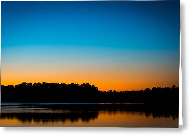 Colors At Sunset Greeting Card by Shelby  Young