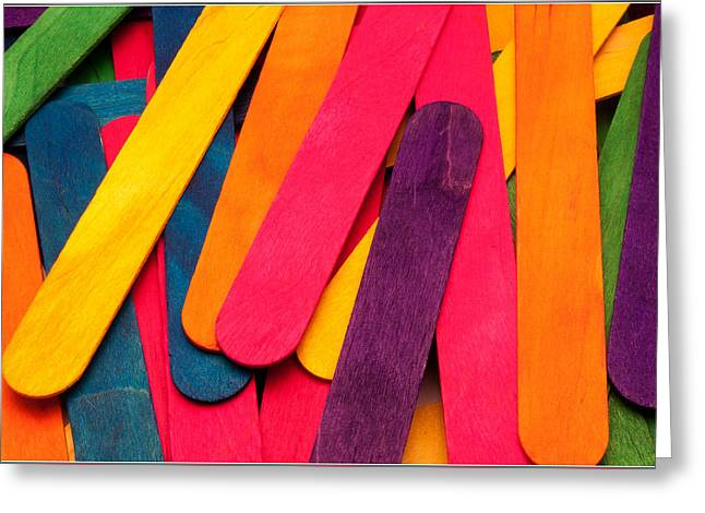 Art Book Greeting Cards - Colors Greeting Card by Bertie Price