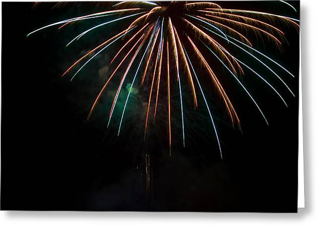 Colors Light The Sky Greeting Card by Tony  Bazidlo