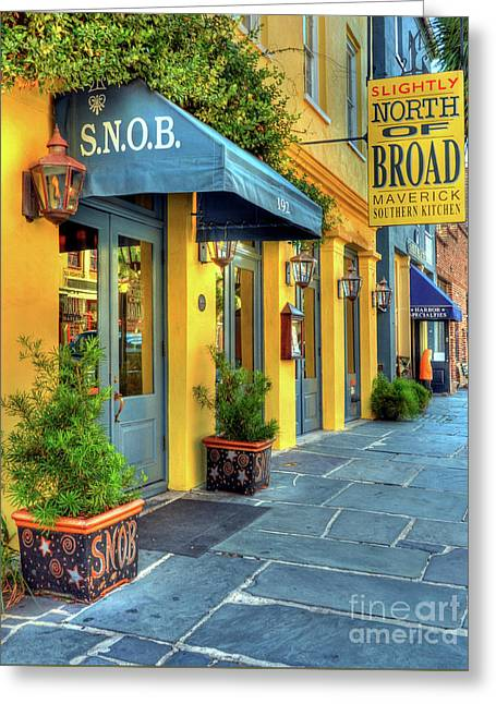 Colors Of Charleston 2 Greeting Card by Mel Steinhauer