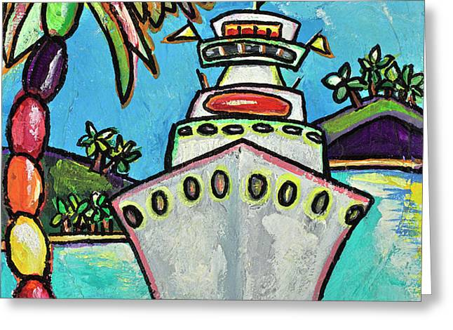 Colors of Cruising Greeting Card by Patti Schermerhorn