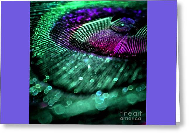 Colors Of Royalty Greeting Card by Krissy Katsimbras