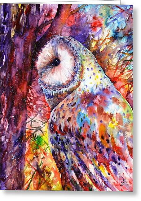 Popular Images Greeting Cards - Colors of the Wild Greeting Card by Zaira Dzhaubaeva