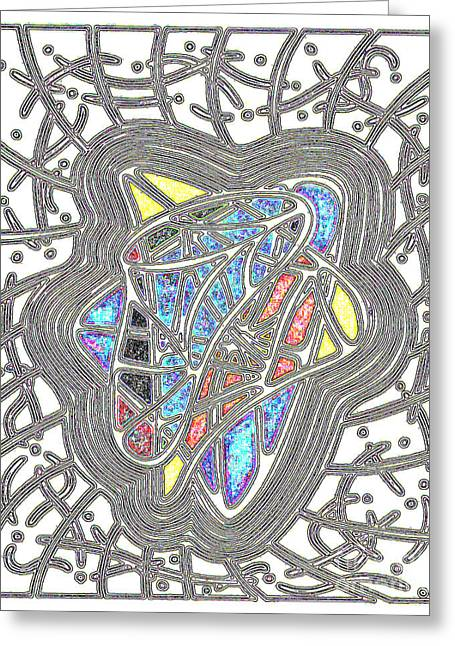 Layer Greeting Cards - Colorzoa Greeting Card by Peter Paul Lividini