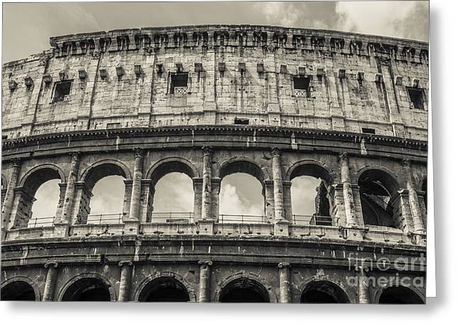 Colosseum Greeting Card by Diane Diederich