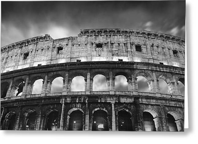 Rome Greeting Cards - Colosseum - Rome Greeting Card by Rod McLean