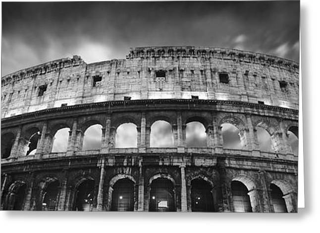 Colosseum - Rome Greeting Card by Rod McLean