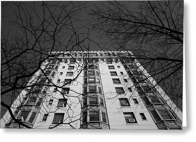 Columbia Heights Greeting Card by Christopher Kirby