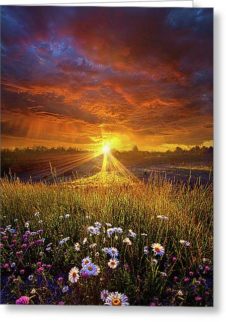 Come Again Another Day Greeting Card by Phil Koch
