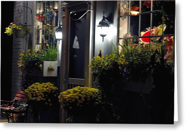 Store Fronts Greeting Cards - Closed Come Back Tomorrow Greeting Card by Glenda Ward