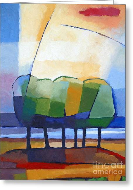 Most Sold Paintings Greeting Cards - Come Spring Greeting Card by Lutz Baar