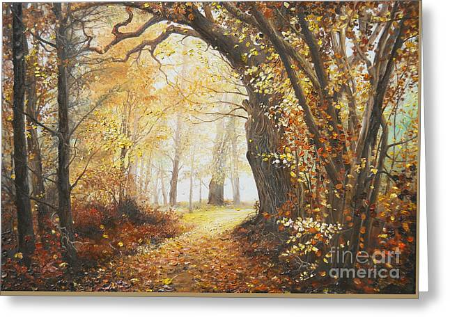 Recently Sold -  - Landscape Framed Prints Greeting Cards - Come with me Greeting Card by Sorin Apostolescu