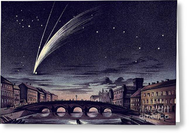 Comet Donati, 1858 Greeting Card by Science Source