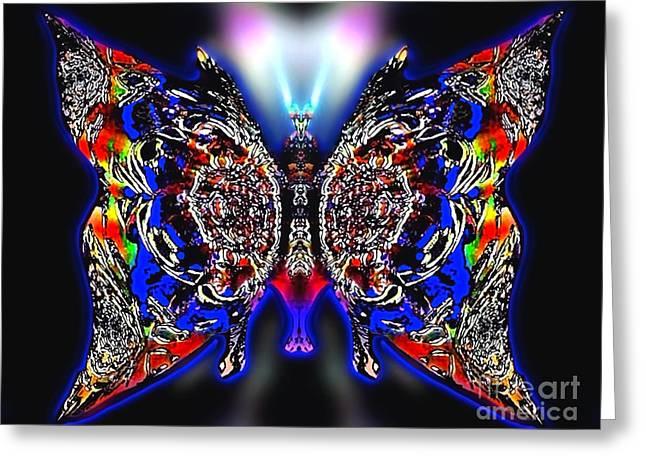 Archangel Ariel Greeting Cards - Comet Fancysky Greeting Card by Raymel Garcia