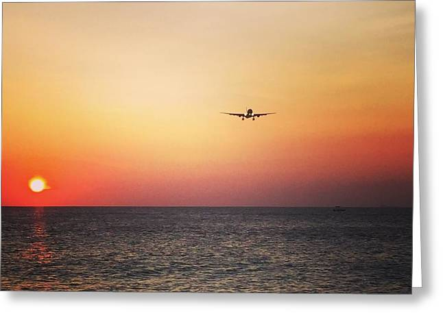 Klm Greeting Cards - Coming home Greeting Card by Jennifer Ansier