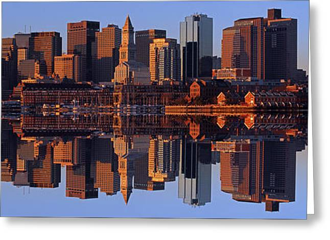 Coming Home To Boston Greeting Card by Juergen Roth