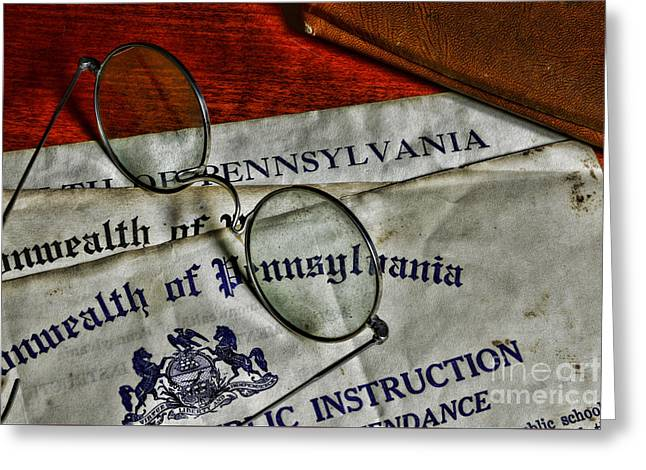 I Live Greeting Cards - Commonwealth of Pennsylvania Greeting Card by Paul Ward