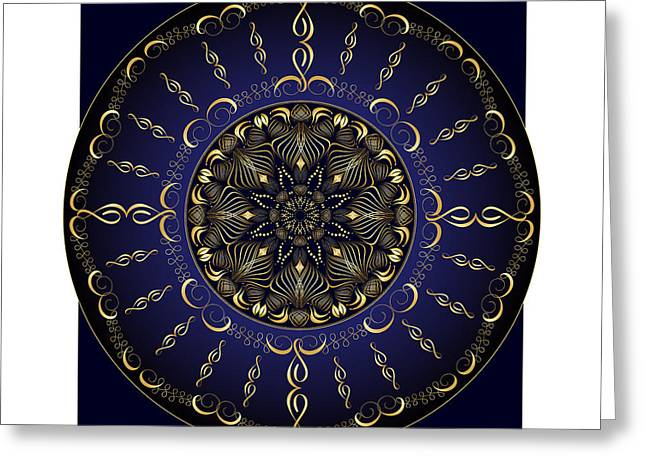 New Greeting Cards - Complexical No 1851 Greeting Card by Alan Bennington