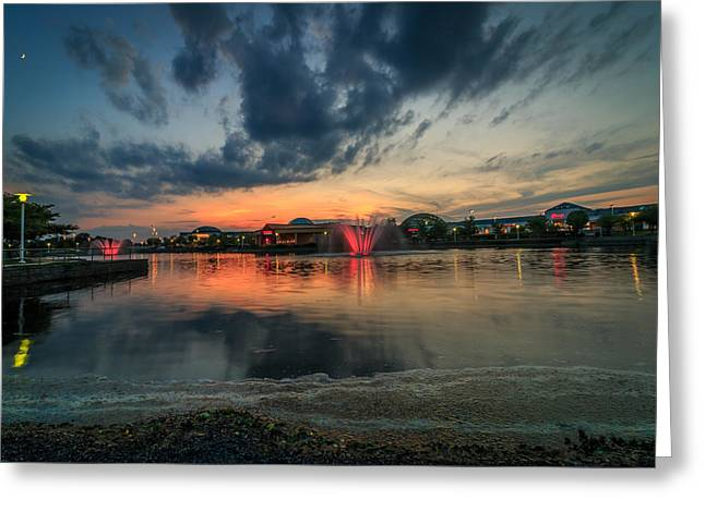 Concord Greeting Cards - Concord Pike sunset Greeting Card by Aravind Ranganathan