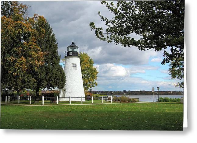 Concord Point Lighthouse  Greeting Card by Ben Prepelka