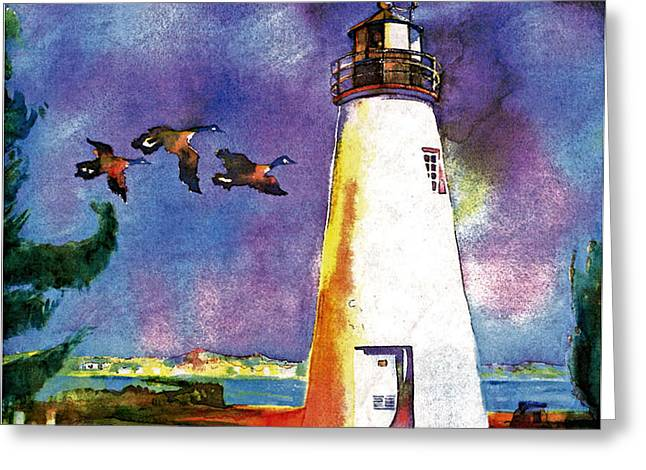 Concord Point Greeting Cards - Concord Point Lighthouse Greeting Card by Dean Gleisberg