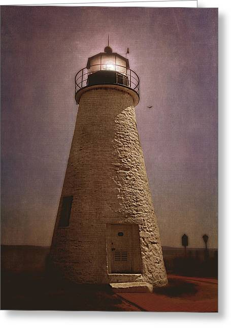 Concord Point Lighthouse  Greeting Card by Trina  Ansel
