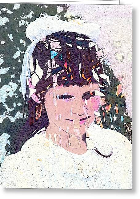 Confirmation Greeting Card by Arline Wagner
