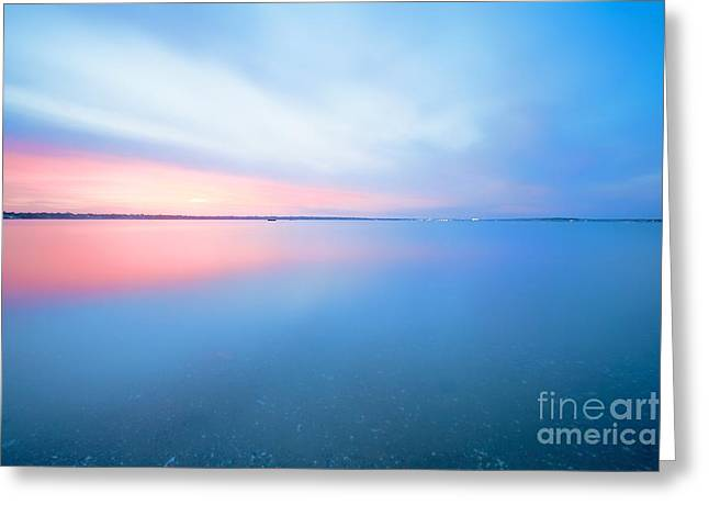 Ocean Art Photography Greeting Cards - Conimicut Point Greeting Card by Photographs by Joules