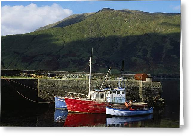 Connaught Greeting Cards - Connemara, Co Galway, Ireland Fishing Greeting Card by The Irish Image Collection