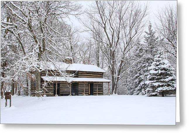 Conner Toll House # 1 Greeting Card by Tom and Pat Cory