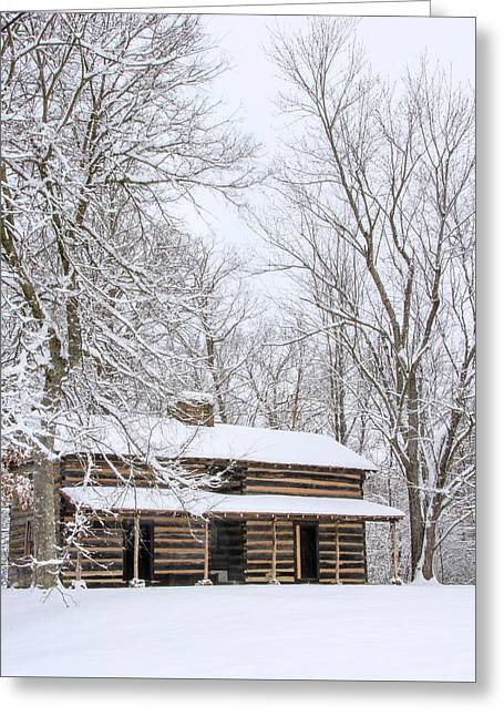 Conner Toll House # 2 Greeting Card by Tom and Pat Cory