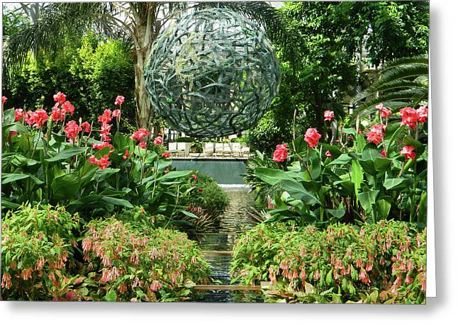 Eloquence Greeting Cards - Conservatory Eloquence 02 - Longwood Gardens PA Greeting Card by Emmy Marie Vickers